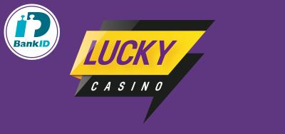 Lucky Casino logo BankID