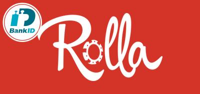 Rolla Casino logo BankID