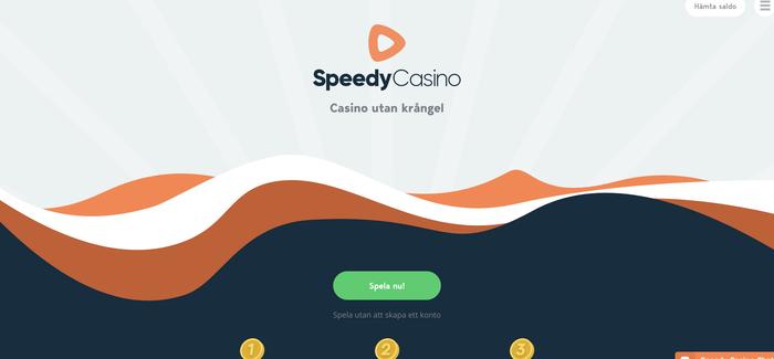 Speedy casino bakgrund