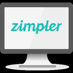 Zimpler logo casino
