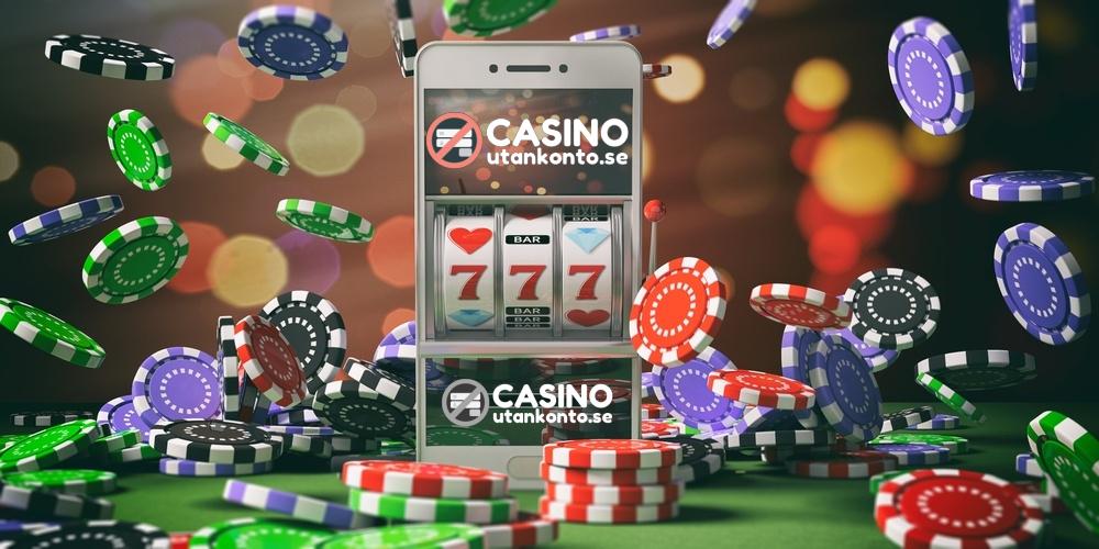 Casino utan konto bakgrund