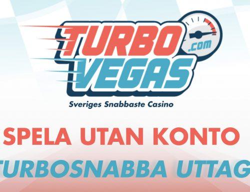 TurboVegas är här – Sveriges snabbaste casino