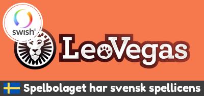 LeoVegas casino licens
