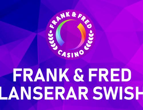 Frank & Fred lanserar Swish som betalningsmetod