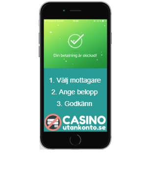 Casino med swish