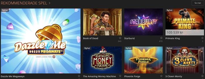 Storspelare Casino Spel